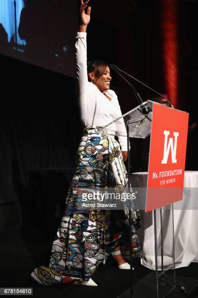 Vivian Anderson speaks onstage at the Ms. Foundation for Women 2017 Gloria Awards Gala & After Party at Capitale on May 3, 2017 in New York City.