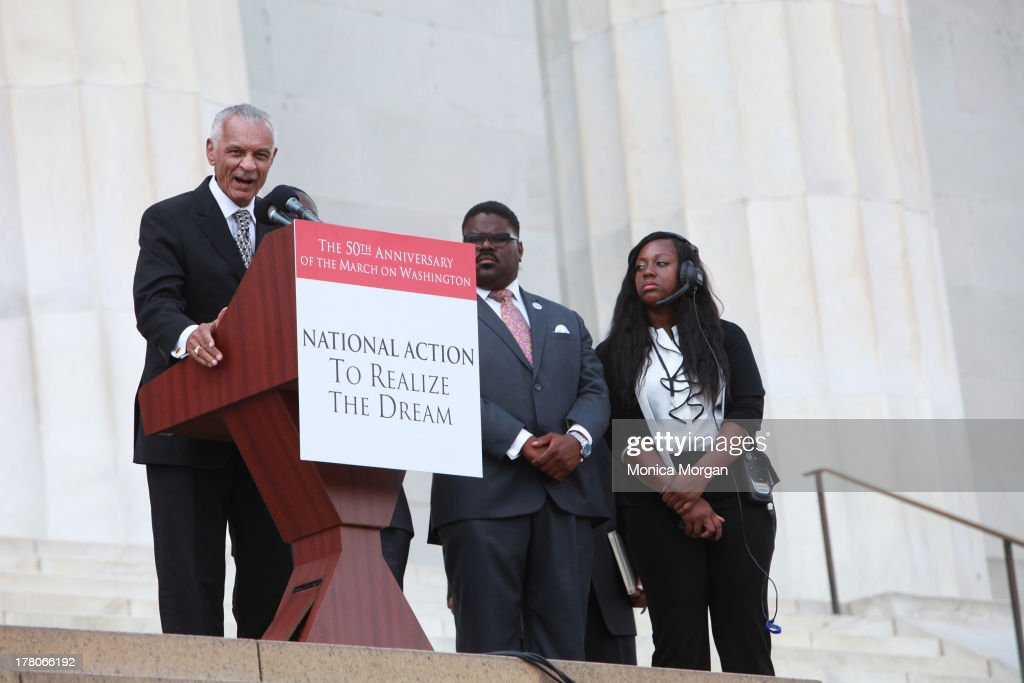 C.T. Vivian attends the 50th Anniversary Of Martin Luther King's March On Washington on August 24, 2013 in Washington, DC.