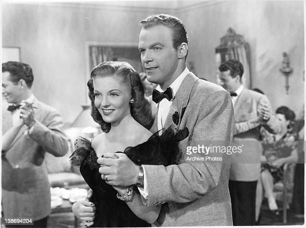 Vivian Blane dancing with William Marshall in a scene from the film 'State Fair' 1945