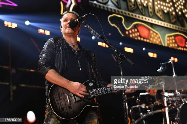 Vivian Campbell of Def Leppard performs onstage during the 2019 iHeartRadio Music Festival at T-Mobile Arena on September 21, 2019 in Las Vegas,...