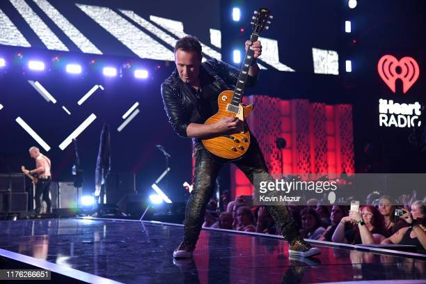 Vivian Campbell of Def Leppard performs onstage during the 2019 iHeartRadio Music Festival at TMobile Arena on September 21 2019 in Las Vegas Nevada