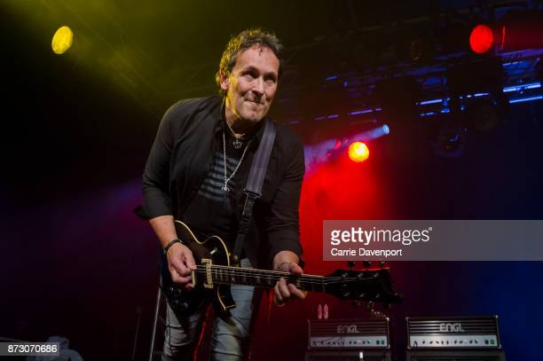 Vivian Campbell performs onstage at the NI Music Awards at Mandela Hall on November 11 2017 in Belfast Northern Ireland