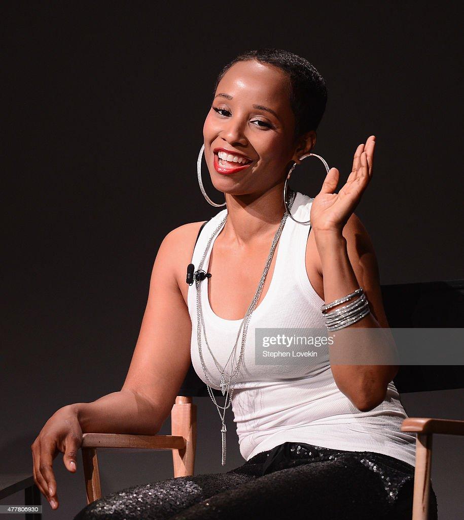 Vivian Green attends the' Apple Store Soho Presents Meet The Musician: Vivian Green ' at Apple Store Soho on June 19, 2015 in New York City.