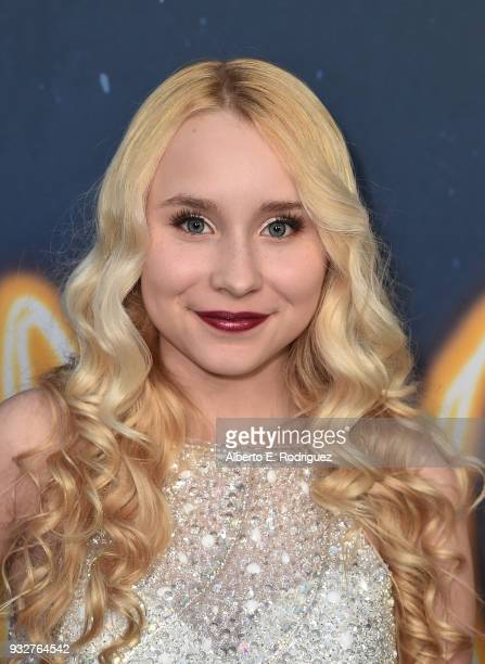 Vivian Hicks attends Global Road Entertainment's world premiere of 'Midnight Sun' at ArcLight Hollywood on March 15 2018 in Hollywood California