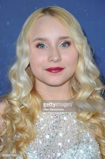 Vivian Hicks attends the Global Road Entertainment's World Premiere of 'Midnight Sun' at ArcLight Hollywood on March 15 2018 in Hollywood California