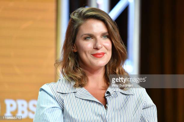Vivian Howard of South By Somewhere speaks during the 2019 Summer TCA press tour at The Beverly Hilton Hotel on July 30 2019 in Beverly Hills...