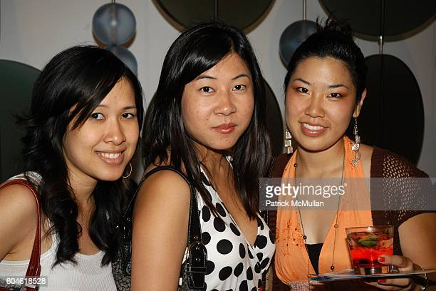 Vivian Lee Julie Mai and Melody Mishida attend Avenues of Art and Design with SKYY90 at Art Walk on Beverly and Robertson on June 3 2006 in Beverly...