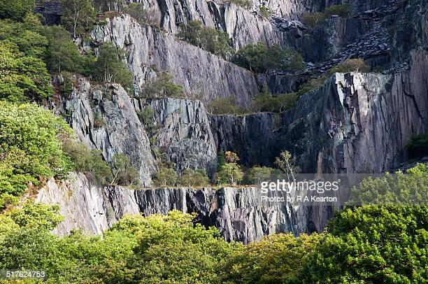 Vivian Quarry, Llanberis, Wales