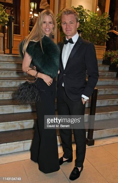 Vivian Sibold and Nico Rosberg attend The ABB FIA Formula E 2019 Monaco E-Prix 'Casino Royale' Black Tie Event at Casino de Monte-Carlo on May 11,...