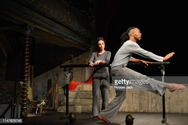 Viviana Durante and Mbulelo Ndabeni in Javier de Frutos's 838 at Wiltons Music Hall on May 8 2019 in London England