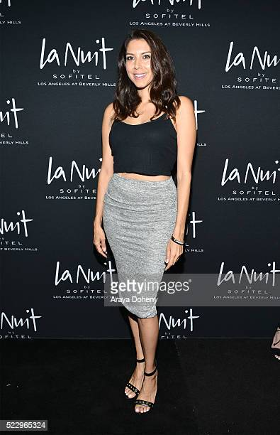 Viviana Vigil attends LA NUIT by Sofitel Los Angeles at Beverly Hills at Sofitel Hotel on April 20 2016 in Los Angeles California