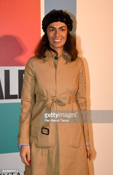 Viviana Volpicella attends Next Talents Vogue during Milan Fashion Week FW17 on February 22 2017 in Milan Italy