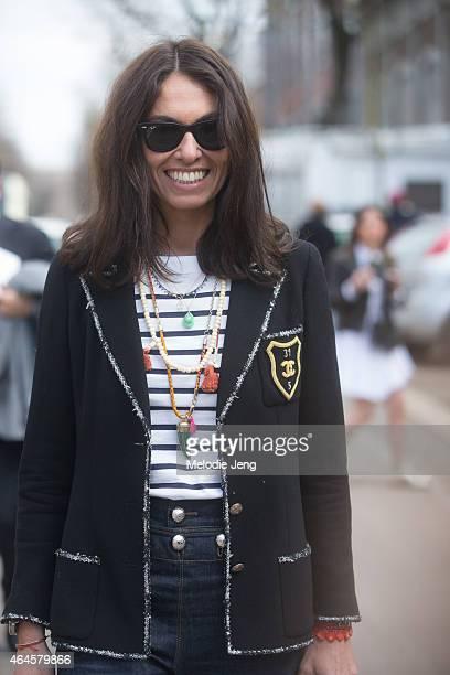 Viviana Volpicella on February 26 2015 in Milan Italy
