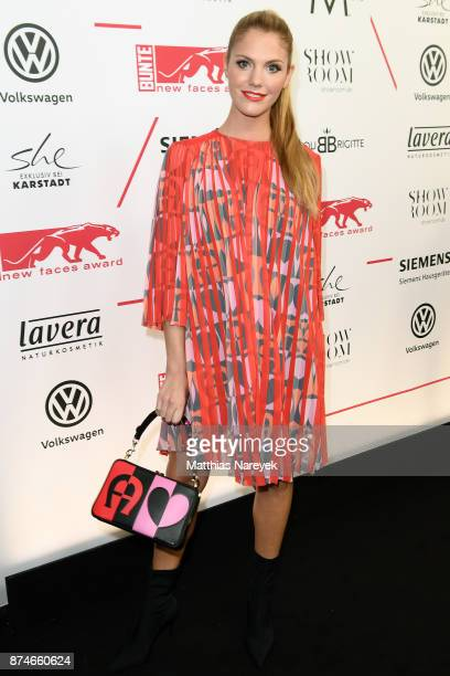 Viviane Geppert attends the New Faces Award Style 2017 at The Grand on November 15 2017 in Berlin Germany