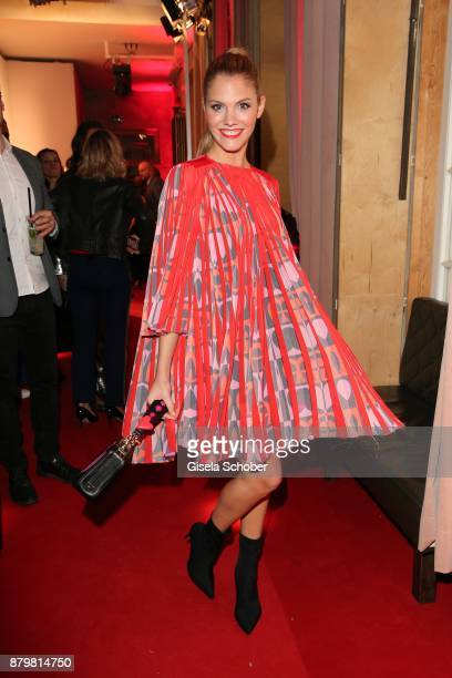 Viviane Geppert during the New Faces Award Style 2017 at 'The Grand' hotel on November 15 2017 in Berlin Germany