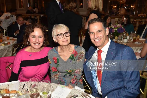 Viviane Kaneff Claude De Backer and Allan Pollack attend Alzheimer's Drug Discovery Foundation's Ninth Annual Fall Symposium Luncheon at the Pierre...