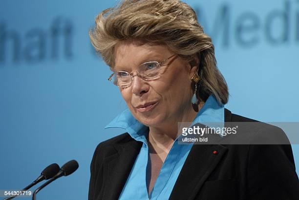 Viviane Reding EUKommissarin für Medien und Informationsgesellschaft CSV Luxemburg