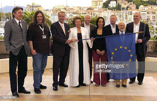 Viviane Reding, European Commissioner for Information, Society and Media with Culture and Audiovisual Ministers of the European Union