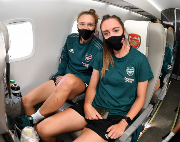 GBR: Arsenal Women Travel to Spain for Women's UEFA Champions League