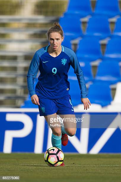 Vivianne Miedema during the preseason friendly match between national women's The Netherlands vs Romania in Pinatar Arena San Pedro del Pinatar...