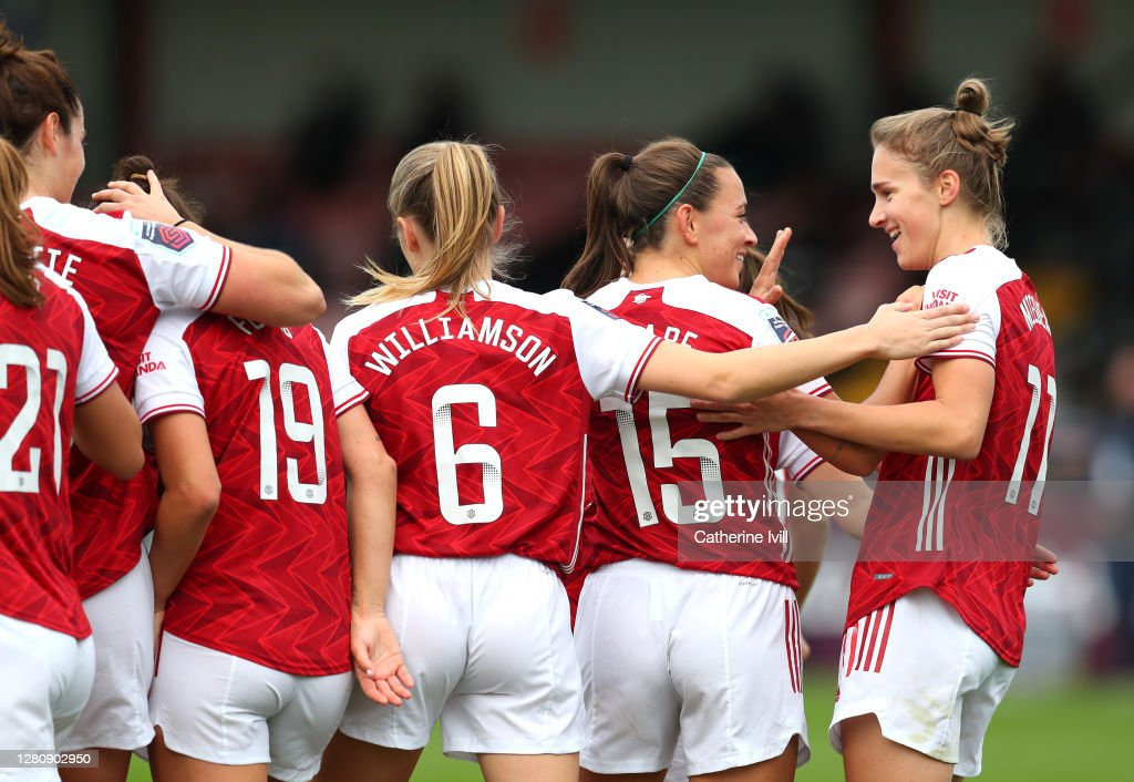 Arsenal Women v Tottenham Hotspur Women - Barclays FA Women's Super League : News Photo