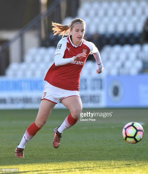 Vivianne Miedema of Arsenal during the WSL match between Arsenal Women and Sunderland on November 12 2017 in Borehamwood United Kingdom