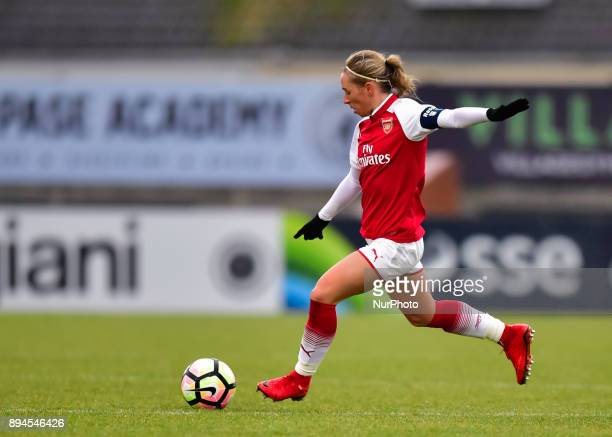 Vivianne Miedema of Arsenal during Women's Super League 1 match between Arsenal against Sunderland AFC Ladies at Borehamwood Football Club London on...
