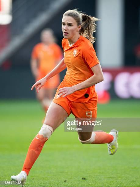 Vivianne Miedema of Holland women during the women's international friendly match between The Netherlands and Chili at AFAS stadium on April 09 2019...
