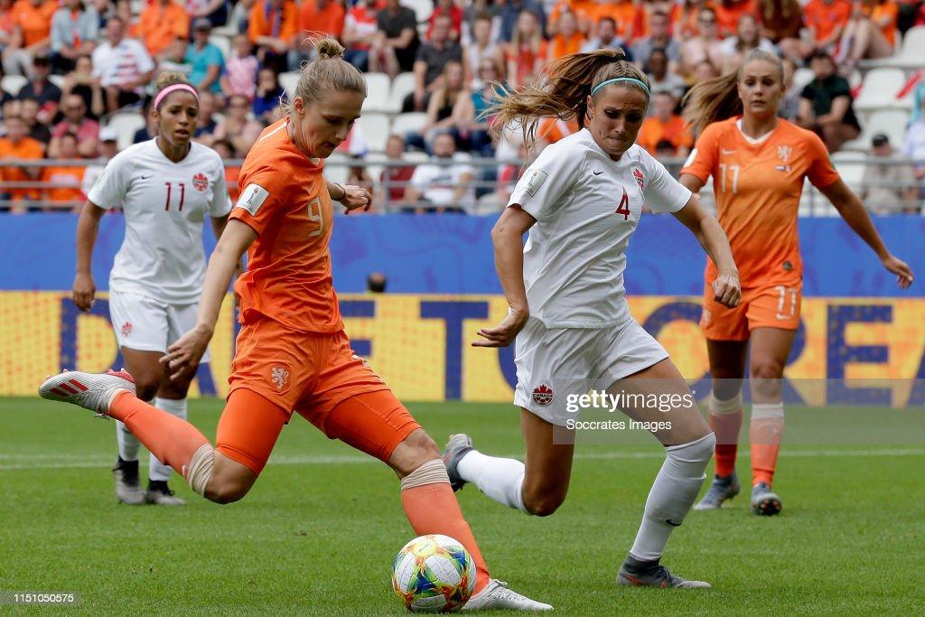 Holland  v Canada  -World Cup Women : News Photo