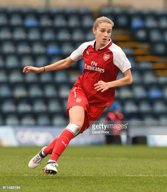Vivianne Miedema of the Arsenal Women during the match between Reading FC Women and Arsenal Women at Adams Park on January 28 2018 in High Wycombe...