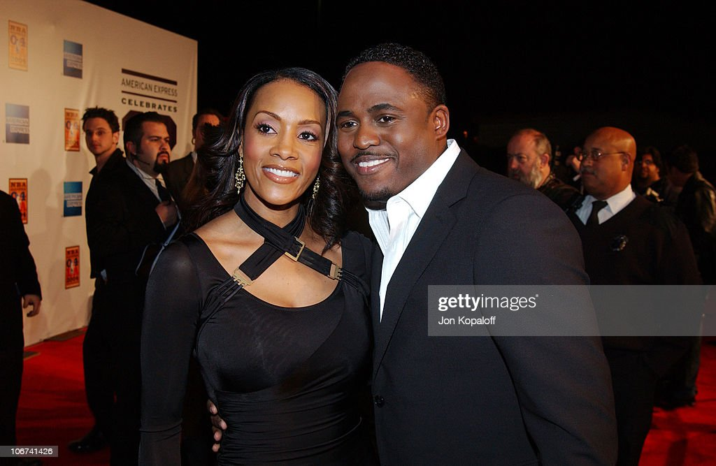 Vivica A  Fox and Wayne Brady arriving at the Official Tip