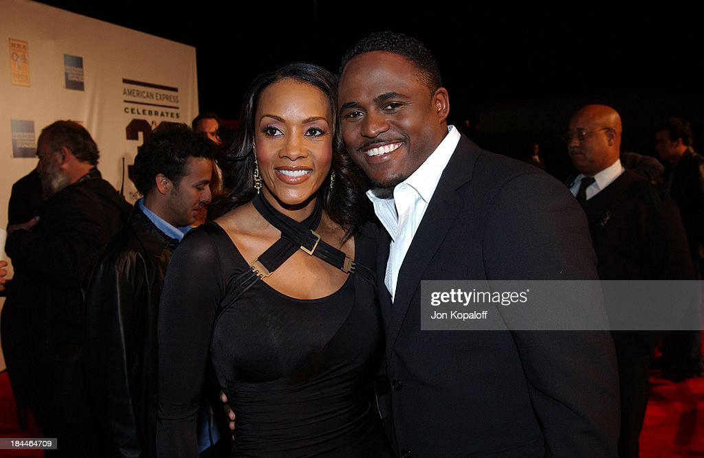 Vivica A  Fox and Wayne Brady arriving at the Official Tip-Off to