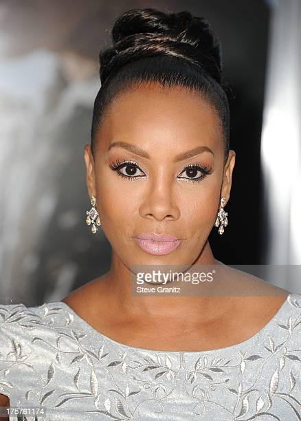 Vivica A Fox arrives at the 'Elysium' Los Angeles Premiere at Regency Village Theatre on August 7 2013 in Westwood California