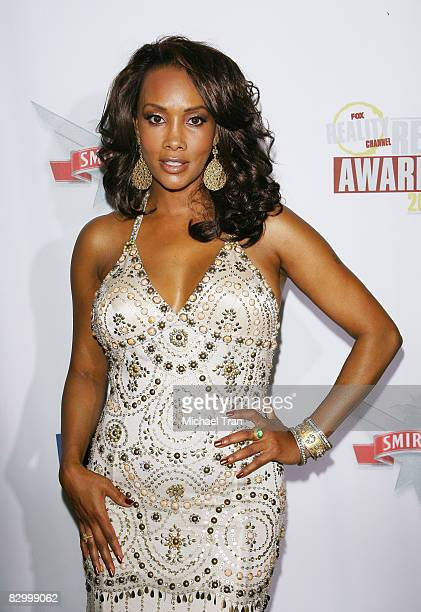 Vivica A Fox arrives at the FOX Reality Channel Really Awards held at Avalon Nightclub on September 24 2008 in Hollywood California