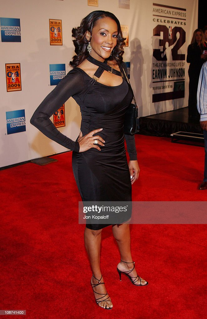 Vivica A  Fox arriving at the Official Tip-Off to NBA All