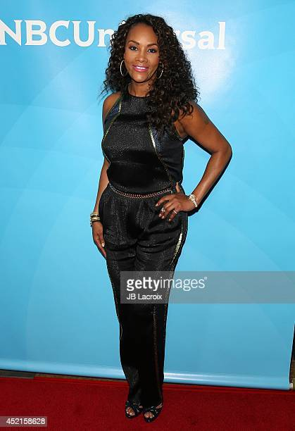 Vivica A Fox attends the 2014 Television Critics Association Summer Press Tour NBCUniversal Day 2 held at the Beverly Hilton Hotel on July 14 2014 in...