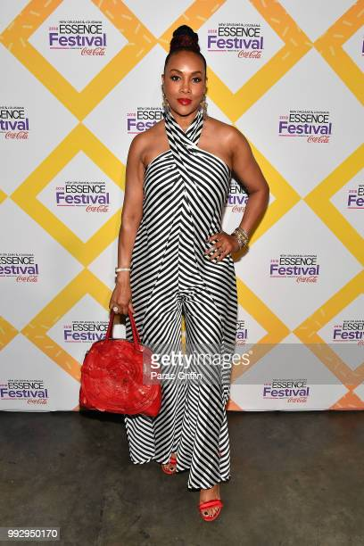 Vivica A Fox attends the 2018 Essence Festival presented by CocaCola at Ernest N Morial Convention Center on July 6 2018 in New Orleans Louisiana