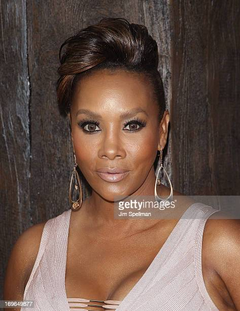Vivica A Fox attends the 'After Earth' premiere at the Ziegfeld Theater on May 29 2013 in New York City