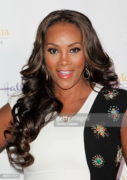 Vivica A Fox attends the Hallmark Channel Hallmark Movie Channel TCA event at The Huntington Library and Gardens on January 11 2014 in San Marino...