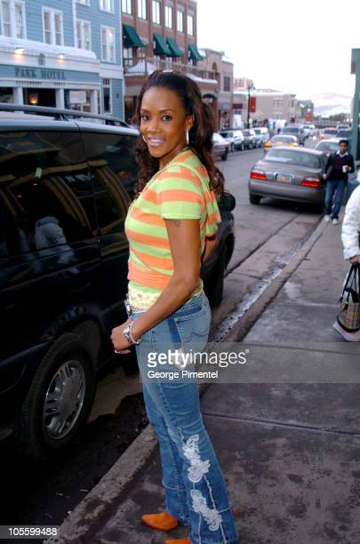 Vivica A. Fox during 2005 Park City - Seen Around Town - Day 6 at Park City in Park City, Utah, United States.