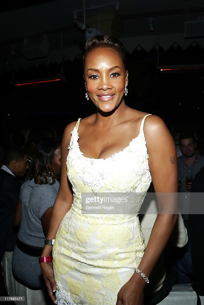 Vivica A. Fox during 2007 NBA All-Star in Las Vegas - ESPN After Dark Party Sponsor by Hennessy at Tryst at the Wynn in Las Vegas, Navada, United States.