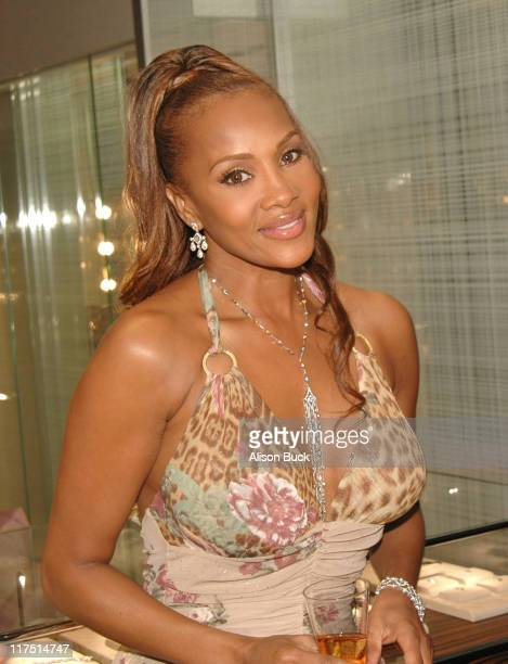 Vivica A Fox during De Beers Cocktail Party With Vivica A Fox March 22 2006 at De Beers in Beverly Hills California United States