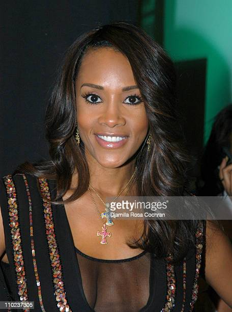 Vivica A Fox During Olympus Fashion Week Fall 2005 Betsey Johnson Front Row And Backstage At