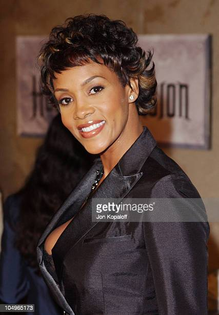 Vivica A Fox during The Haunted Mansion Los Angeles Premiere at The El Capitan Theatre in Hollywood California United States