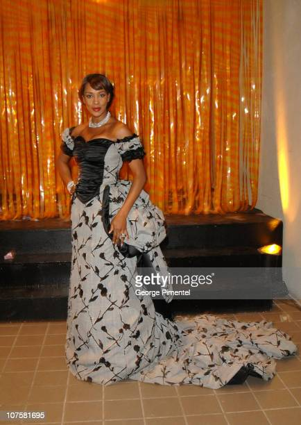 Vivica A Fox during Vivica A Fox Attends Powerball Party at Power Plant in Toronto Canada