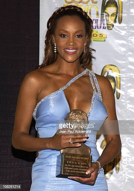 Vivica A Fox recipient of the 2003 Lena Horne Award For Outstanding Career Achievements in the Field of Entertainment
