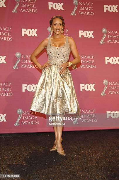 Vivica AFox during 36th NAACP Image Awards Press Room at Dorothy Chandler Pavilion in Los Angeles California United States