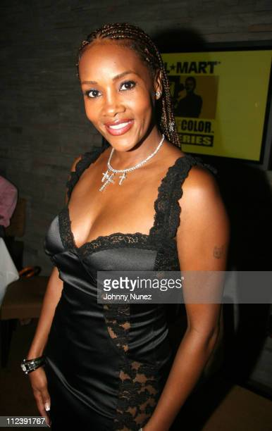 Vivica Fox during ABFF and Walmart VIP Reception July 22 2006 at Santo Restaurant in Miami Florida United States