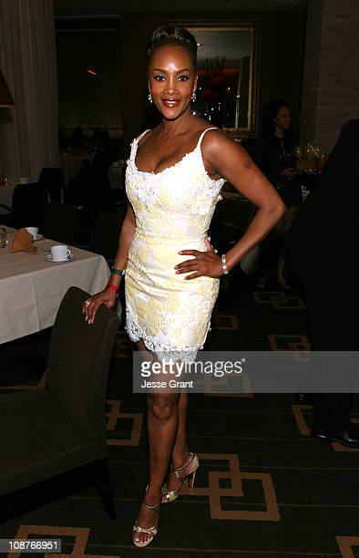 Vivica Fox during ESPN The Magazine Presents ESPN After Dark Chicken 'N' Waffles II at SW Steakhouse in Las Vegas Nevada United States