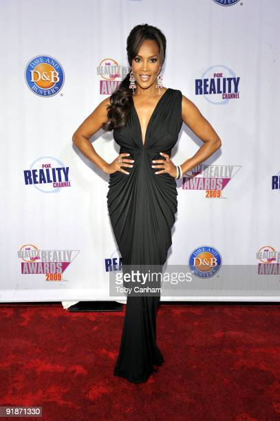 Vivica Fox poses for a picture at the 2009 Fox Reality Channels Really Awards held at The Music Box @ Fonda on October 13 2009 in Los Angeles...